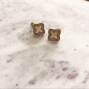Jewelry - Glitter Floret Stud Earrings